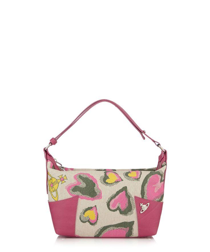 Borsa pink & green heart shoulder bag Sale - Vivienne Westwood