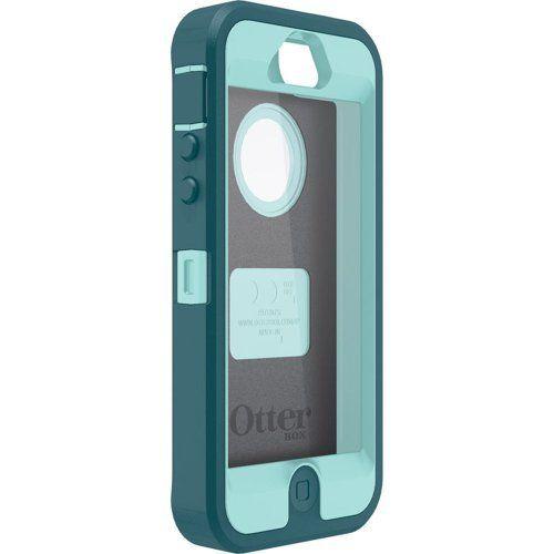 Otterbox iPhone 5 Defender Series Case - Aqua Blue,Mineral ...