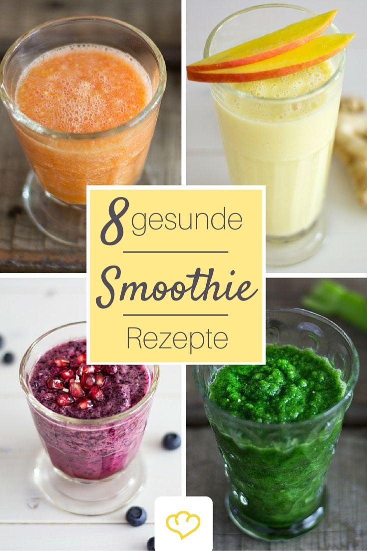 #Detox, Zellschutz, #Anti-Aging: Diese #Smoothies können mehr. Wir haben den Mixer angeworfen und acht Rezepte kreiert, die erfrischend, gesund und lecker sind Zu den Rezepten: bit.ly/8-gesunde-Smoothies