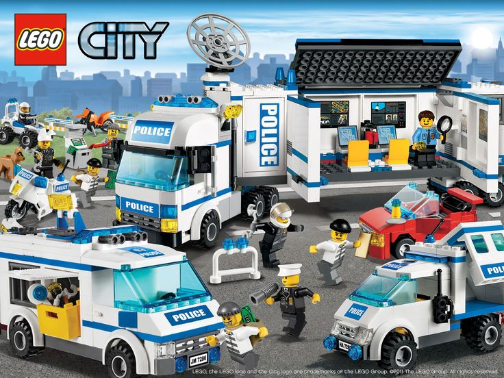 Lego City Police Poster