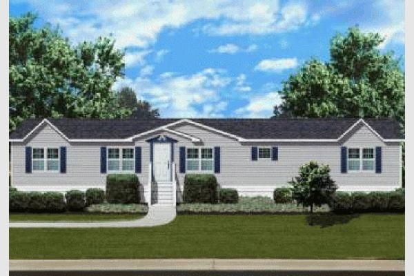 double wide home landscaping