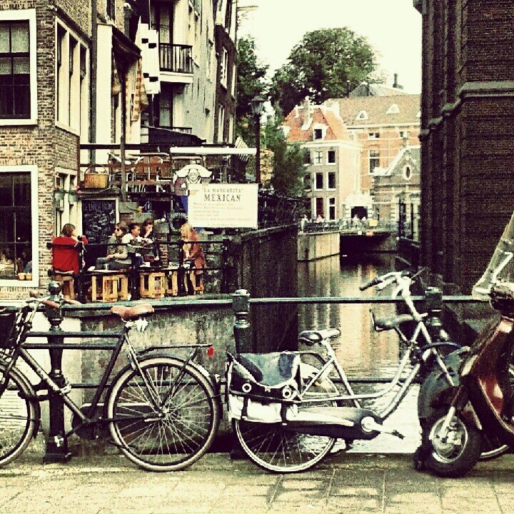 Could easily be my new favourite city! Amsterdam#