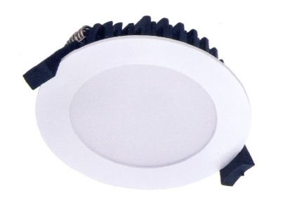 The FLD-101-10W and the FLD-101-13W LED downlight integrates Samsung 5630SMD light source with a die cast aluminium heat sink to create a stylish and effective LED downlight suitable for residential settings.  The FLD-101 is IC-F rated which enables it to be installed in ceilings with thermal insulation that can abut and cover the luminaire