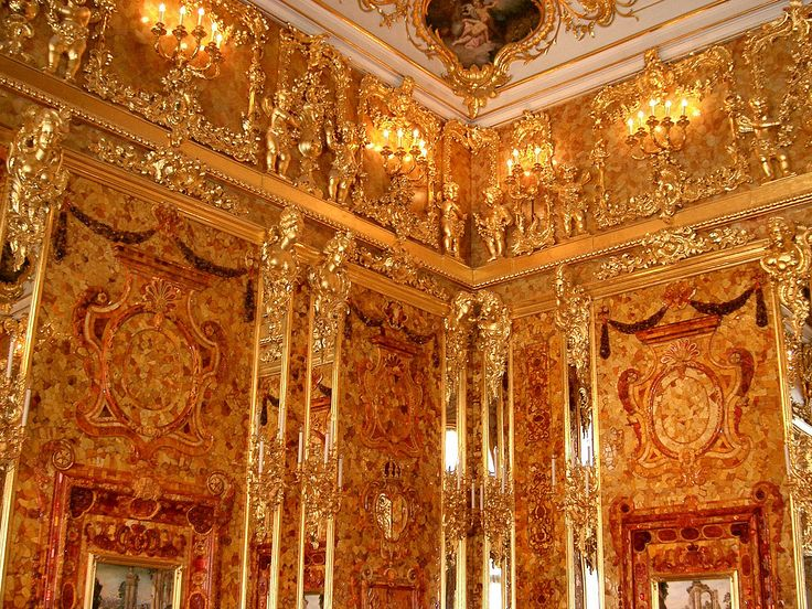 Removed from Catherine Palace, Saint Petersburg, by Germans during World War II and transported to Germany. Estimated (adjusted) value: $142 million.