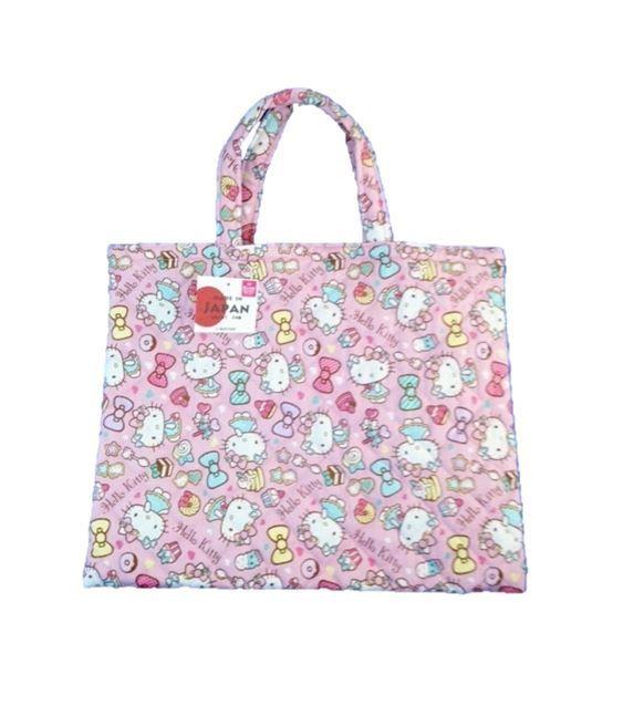 Hello Kitty Lesson Bag #hellokitty #totebag #lessonbag #sanrio