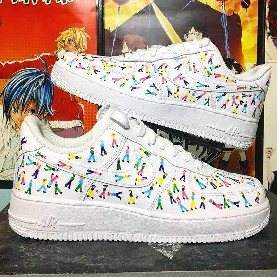 Details about Custom Painted Sneakers Nike Air Force Ones Made To Order