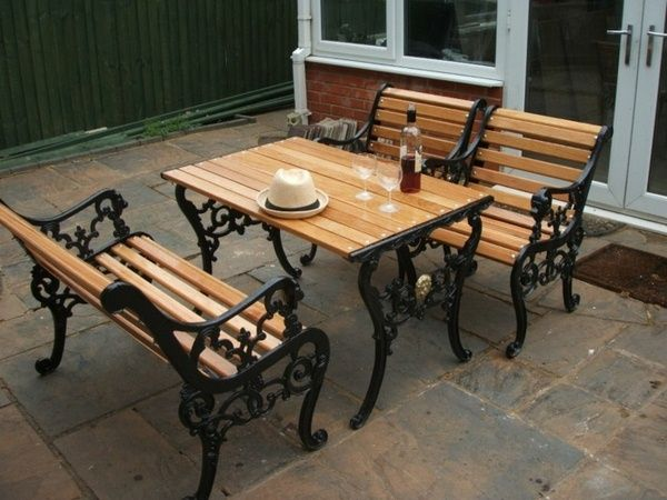25 best ideas about cast iron garden furniture on Cast iron garden furniture