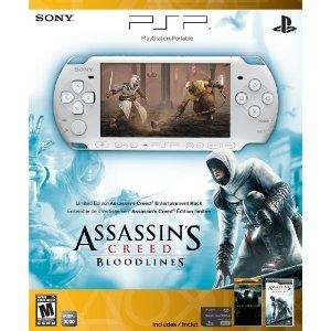 Wish   PSP 3000 Limited Edition Assassin's Creed: Bloodlines Entertainment Pack- White