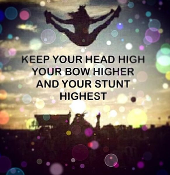 """Keep your head high; your BOW higher & your stunt highest""  _____________________________ Reposted by Dr. Veronica Lee, DNP (Depew/Buffalo, NY, US)"