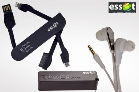 Save Rs 1798 on Combo of Earphone Powerbank & Swiss Knife