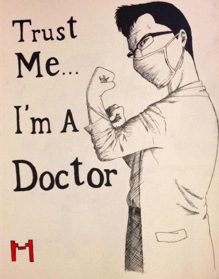 I'm a Doctor by KuroKunoichi.deviantart.com on @deviantART