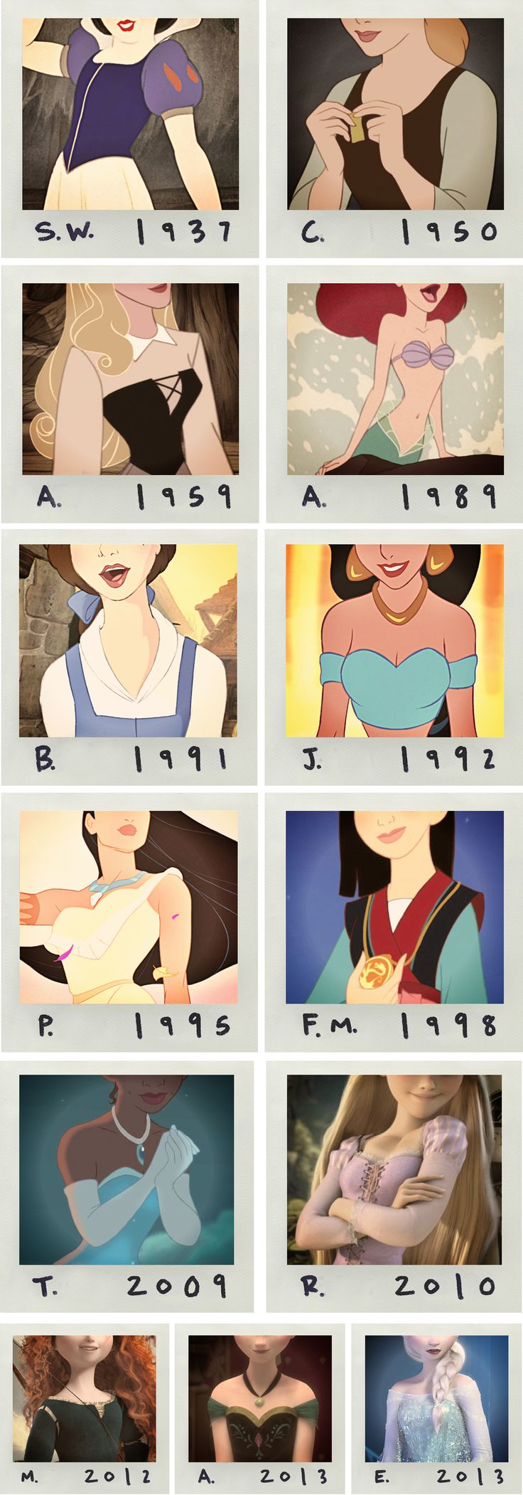 Pictures of Disney bosoms?  Seriously? Gauche.