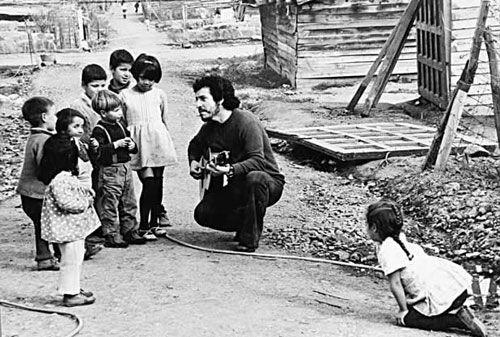 Víctor Jara © Fundación Víctor Jara