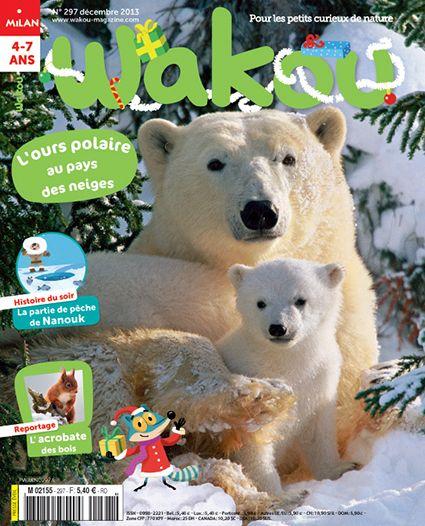 Wakou, Magazine enfant de découverte Nature, Abonnement magazine Wakou - Magazine Wakou