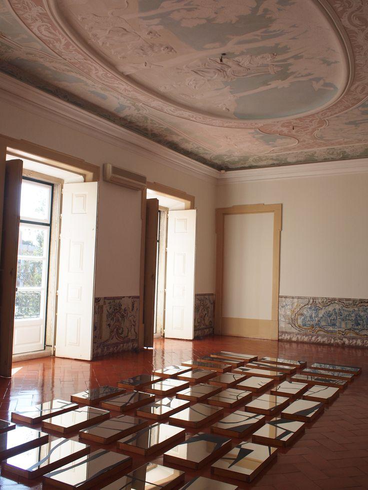 Exposição Becoming Water  Instalação de Carla Rebelo  Palácio Marquês de Pombal - Oeiras
