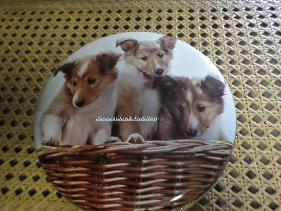 Confiserie Paris  Small Round French SWEET TIN by TinTack on Etsy, €10.00