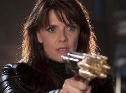 """Amanda Tapping as Helen Magnus from the TV Show """"Sanctuary"""". Another good show gone.  VTP"""