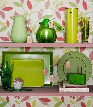 Verde in cucina