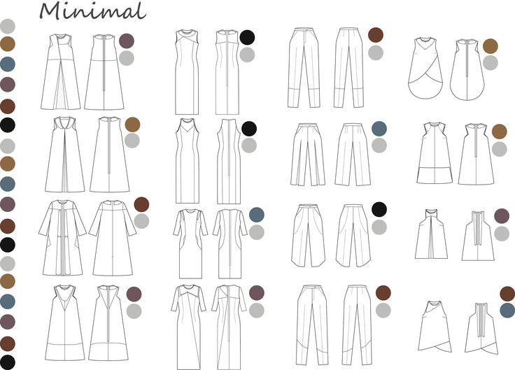 raquel-galiano-fichas técnicas-colección minimal-ilustración-collage-moda-fashion-madrid