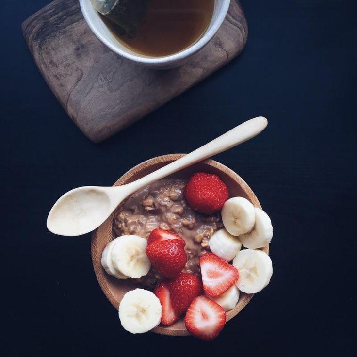 @grainandknot's Morning ritual with @cuckoofoods #breakfast #food #foodie #bircher #kitcehn