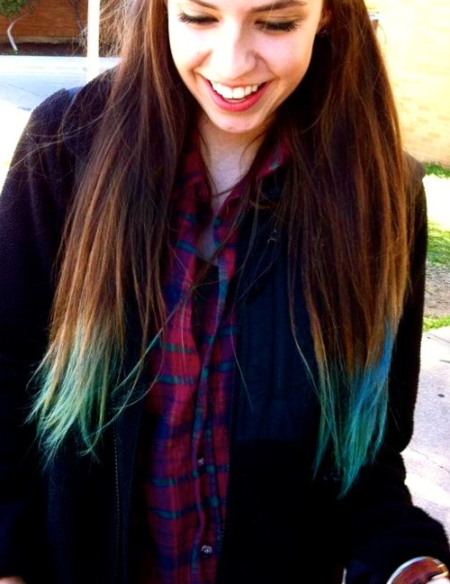 260 best Dip dye hair images on Pinterest