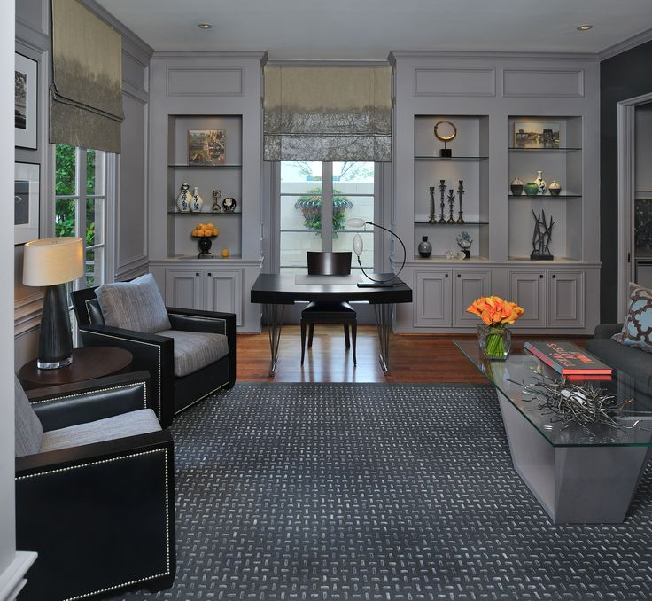 Home office decor inspiration by wendt design group