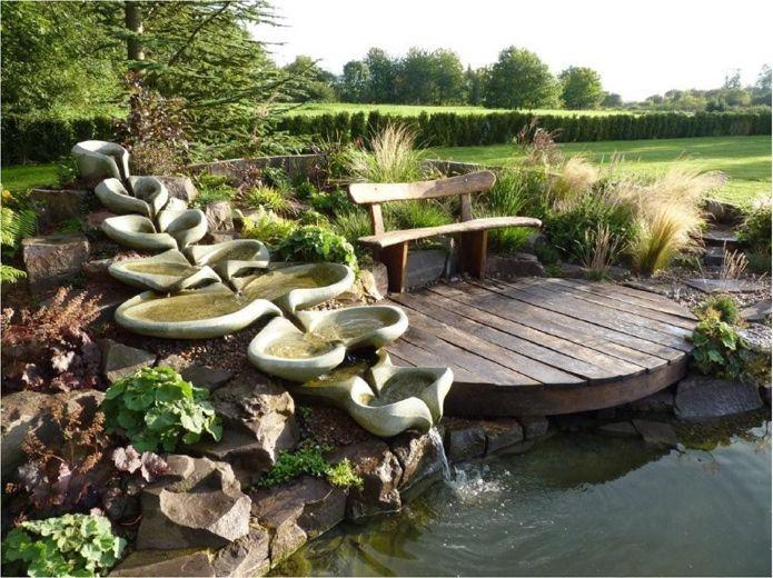 25+ best ideas about bachlaufschalen on pinterest   moderne, Garten und bauen