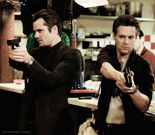 The Marshalls and their guns...