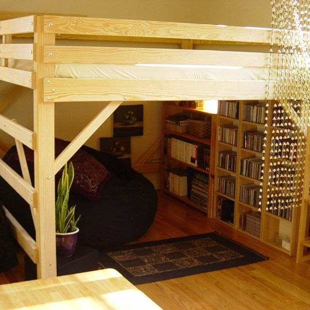 Loft Bed Room best 25+ adult loft bed ideas only on pinterest | build a loft bed