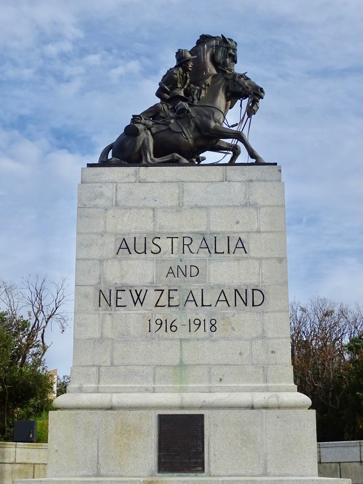 Desert Mounted Corp Memorial by Web Gilbert Albany Western Australia. The ANZAC Desert Mounted Corps Memorial is a duplicate of the original statue erected in Suez in the 1930's. From Memorial Place you'll get incredible views of the King George Sound.