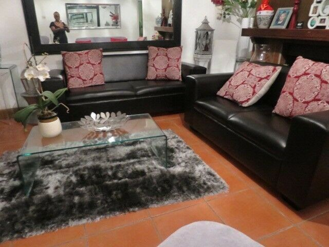 Living Room Table Gumtree Best Of Lounge Suite 2 Piece Brown Leather Square Arms Both Couches For R 4 Di 2020