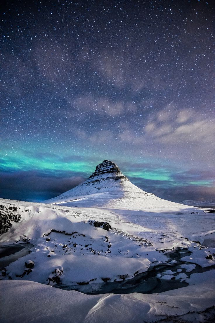 Kirkjufell, Iceland; photo by Andrea Heribanova