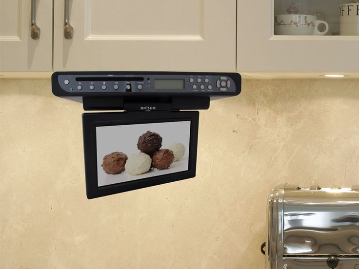 under cabinet kitchen tv best buy 30 best kitchen tvs flipdown tv pop up tv cabinet door 27488