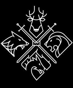 Resultado de imagen para game of thrones design http://jrstudioweb.com/diseno-grafico/diseno-de-logotipos/