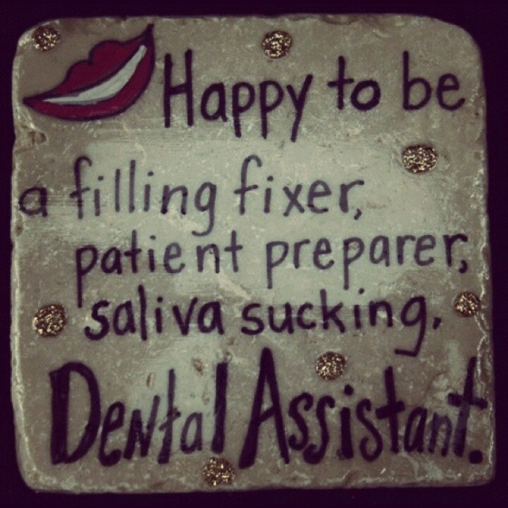 My job as a dental assistant 305