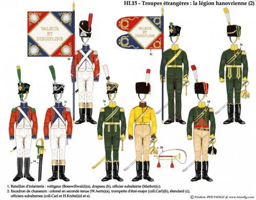 110. The Hanoverian Legion - Empire Histofig - Le site de jeu d'histoire