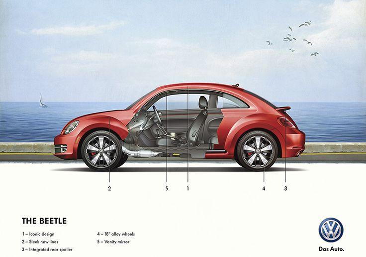 Volkswagen Technical Illustration Posters - Technical Illustration - Jim Hatch Illustration