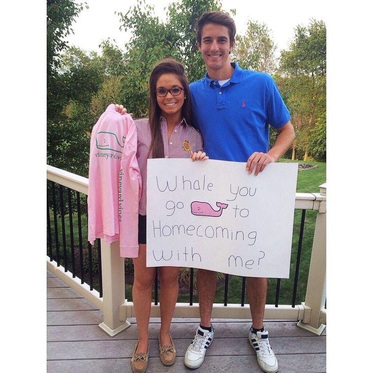Vineyard vines is deff the best way to ask a girl to homecoming