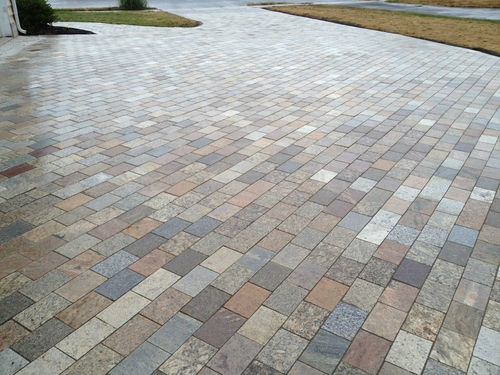 Best Paving Images On Pinterest Driveways Gardens And - Granite patio pavers