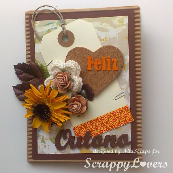 Scrappy Lovers: Bem vindo, Outono!!!