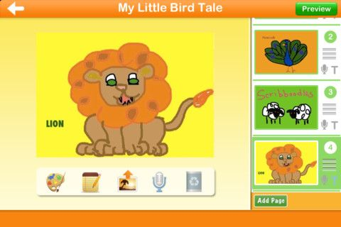 Little Bird Tales - Easy didital stories for kids http://littlebirdtales.com/