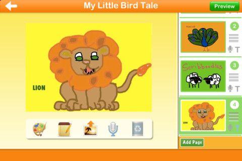 Little Bird Tales - Easy didital stories for kids http://littlebirdtales.com/