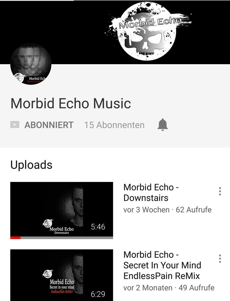 Morbid Echo on YouTube!