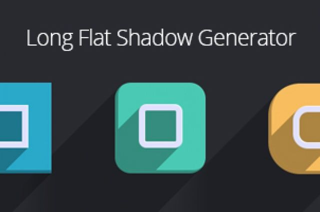 A new flat design variation on our psd long shadow generator to create this effect with ease through the help of...