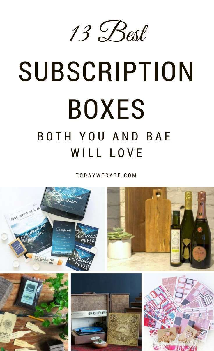 13 Subscription Boxes For Couples That Are More Than Date Night Items With Images Romantic Date Night Ideas Date Night Ideas For Married Couples Subscription Boxes