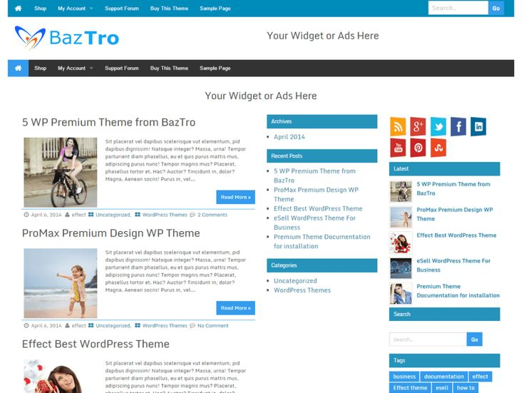 Wrock Metro Theme is WordPress metro style magazine topic With full highlights Responsive and SEO Optimize topic effectively adjusts on your versatile and work area or some other gadget. Topic...