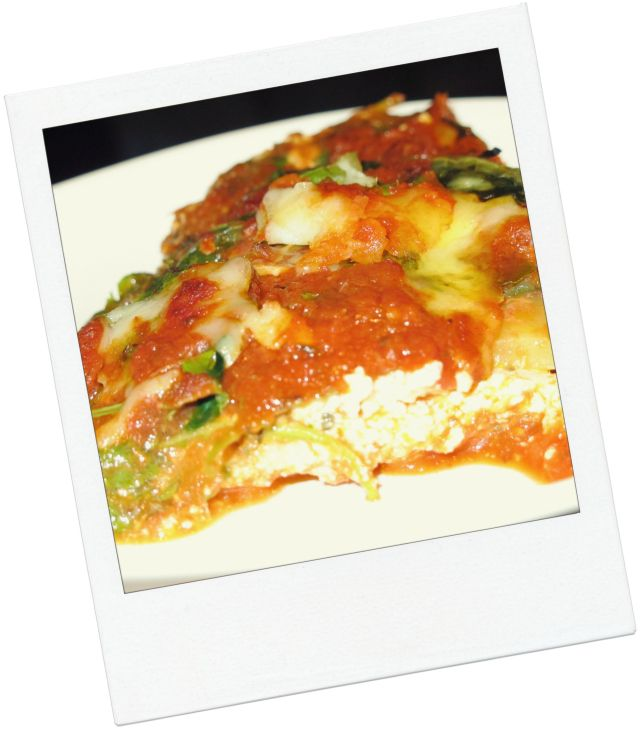 Vegetable Lasagne With No Noodles