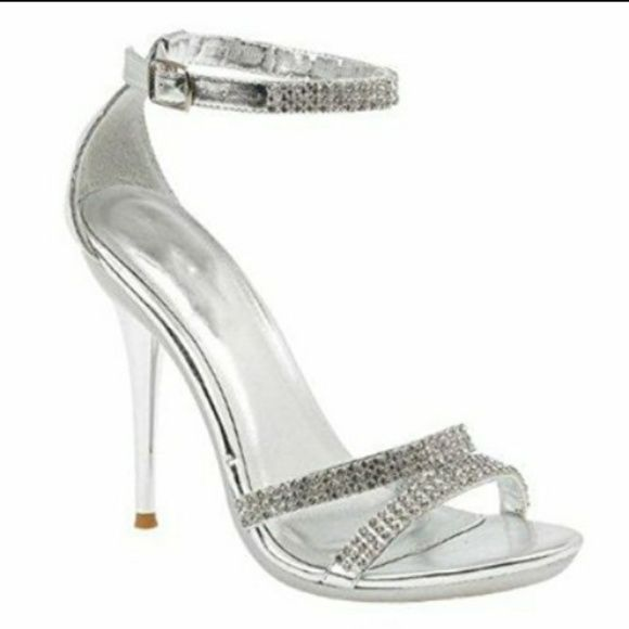 1000 ideas about silver strappy shoes on