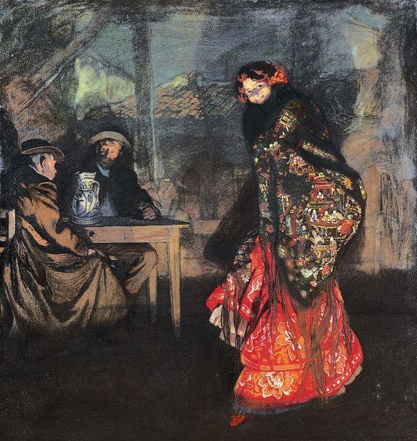 Η Λουιζιάνα Μπρεβαλ ως Κάρμεν (1908)