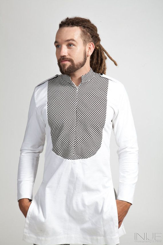Trendy African Shirt unbound by trend culture by ThreadedCulture